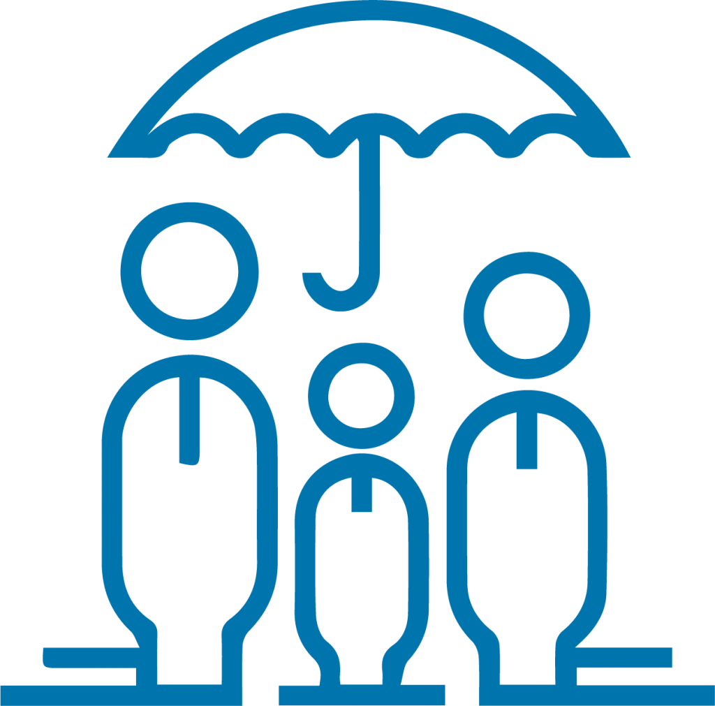 Umbrella Protection Icon